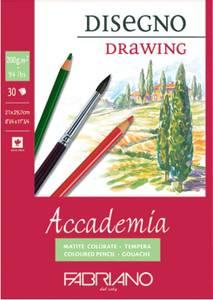 Bilde av Fabriano - Accademia Disegno Drawing - 200gr. A4 - 30 ark