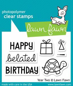 Bilde av Lawn Fawn - LF510 - Clear stamps - Year Two