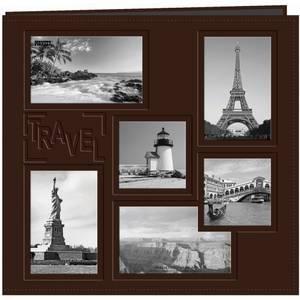 Bilde av Pioneer - Leatherette Post Bound Album - 12x12 - Travel - Brown