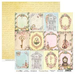 Bilde av ScrapBoys - Victorian Home - 12x12 - VIHO-06 - Picture Sheet