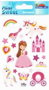 Bilde av Global Gift - 114 120 - Mini Sweet Stickers - Princess