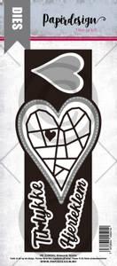 Bilde av Papirdesign Dies PD2100501 - Slimcard hjerte