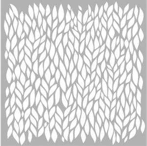 Bilde av Pronty Crafts - Stencil - 150x150mm - Leafs