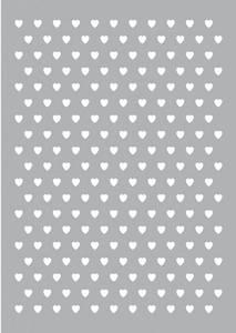 Bilde av Pronty Crafts - Stencil - A4 - Hearts