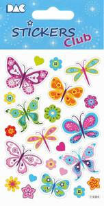 Bilde av DAC - 115 034 - Stickers Club - Butterflies