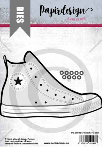 Papirdesign Dies PD1900247 - Sneakers, stor
