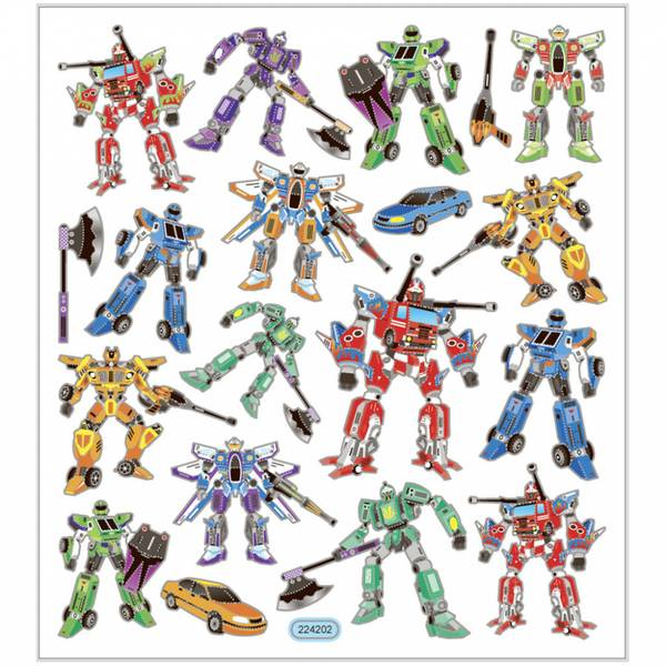 Creotime - Stickers - 29178 - Transformers