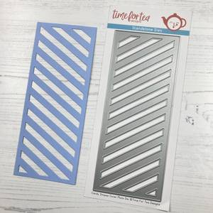 Bilde av Time For Tea - 422 - Slimline Die - Candy Stripes