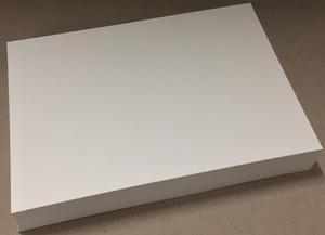 Bilde av Kartong A4 - 200g - Hvit (helt glatt) - 100 stk