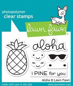 Bilde av Lawn Fawn - LF1417 - Clear stamps - Aloha