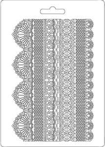 Bilde av Stamperia - Soft Mould - A5 - 505 - Laces