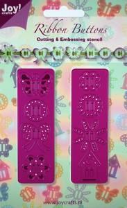 Bilde av Joy Crafts - 6002-0131 - Ribbon Buttons - Sommerfugl