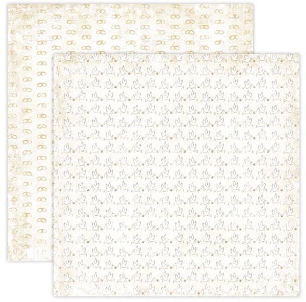 Papirdesign PD15020 - Hell Og Lykke - GIFTERING BEIGE