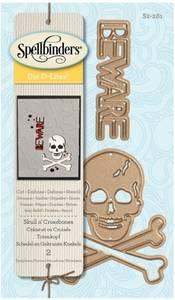Bilde av Spellbinders - S2-281 - D-Lites Die - Skull n' Crossbones