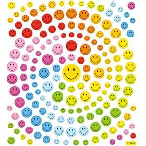 Bilde av Klistremerker - 0438 - Smileys #2 med glitter