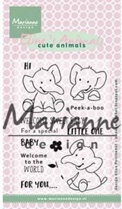 Bilde av Marianne Design - EC0168 - Clearstamp - Eline's elephant
