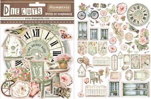 Bilde av Stamperia - Chipboard Die Cuts - 03 - House of Roses