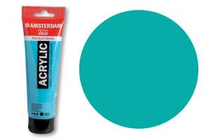 Bilde av Amsterdam - Acrylic Standard - 120ml - 661 TURQOUISE GREEN