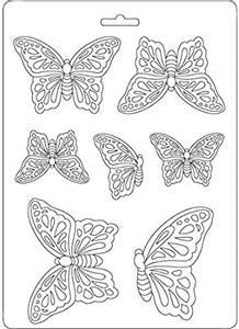 Bilde av Stamperia - Soft Mould - A5 - 531 - Butterflies