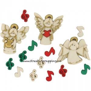 Bilde av Dress it up - Buttons - 7495 - Jul - A CHOIR ANGLES
