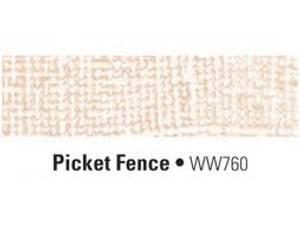 Bilde av Coredinations - 12x12 Whitewash - PICKET FENCE (NB: Buet/Bøyd)