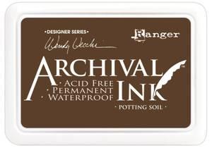 Bilde av Ranger - Archival ink pad - Potting Soil - Wendy Vecchi