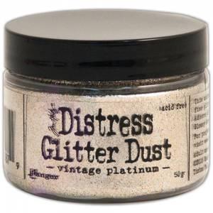 Bilde av Tim Holtz - Stickles Dry Glitter - Vintage Platinum Glitter Dust