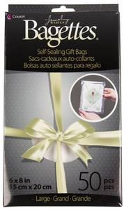 Bilde av Bagettes - Self-Sealing Gift Bags - 6x8 - Clear - 50stk