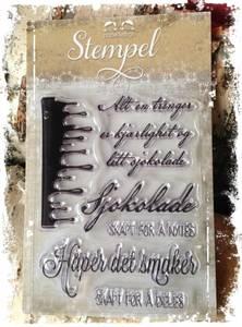 Bilde av Papirdesign - Stempel - PD14952 - Sjokolade
