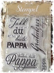 Bilde av Papirdesign - Stempel - PD14963 - Pappa
