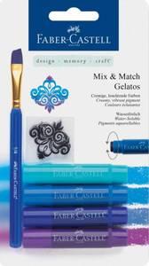 Bilde av Faber-Castell - Gelatos 121803 - Mix & Match Gelatos - Blue