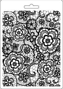 Bilde av Stamperia - Soft Mould - A5 - 547 - Flowered Texture