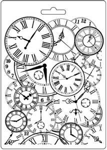 Bilde av Stamperia - Soft Mould - A5 - 548 - Clocks
