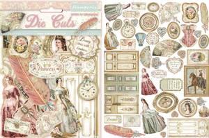 Bilde av Stamperia - Chipboard Die Cuts - 16 - Princess