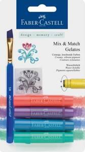 Bilde av Faber-Castell - Gelatos 121806 - Mix & Match Gelatos - Metallic