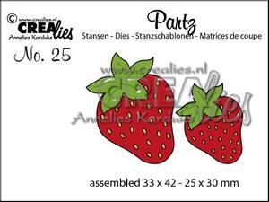 Bilde av Crealies - Dies - Partz 25 - Strawberries