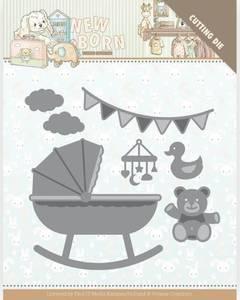 Bilde av FIT - Dies - YCD10231 - Yvonne Creations - Baby Crib