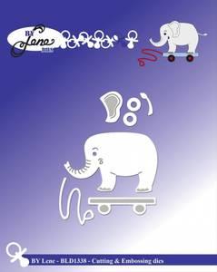Bilde av By Lene - Dies - BLD1338 - Elephant