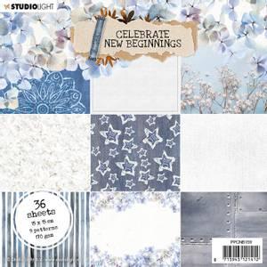Bilde av Studiolight -  159 - PaperPad 15x15cm - Celebrate new beginnings