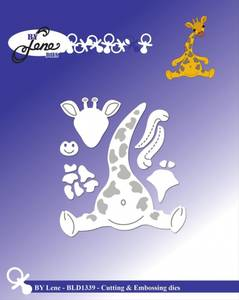 Bilde av By Lene - Dies - BLD1339 - Giraf