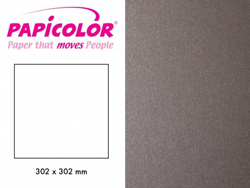 Papicolor - Kartong - 12x12 - 332 - Metallic - Steel