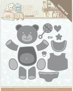 Bilde av FIT - Dies - YCD10232 - Yvonne Creations - Build up Bear