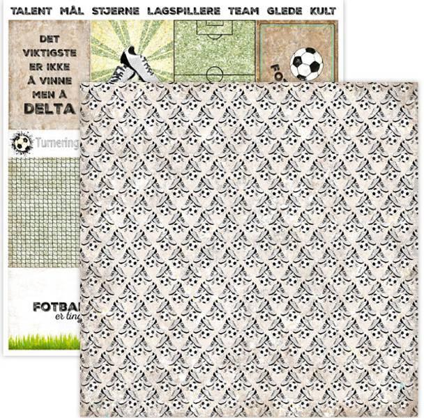 Papirdesign PD15040 - Hell Og Lykke - Fotballsko