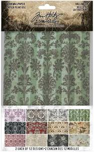 Bilde av Tim Holtz - Idea-Ology - TH94058 - Worn Wallpaper Halloween