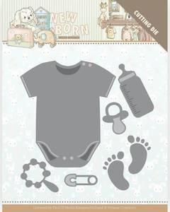 Bilde av FIT - Dies - YCD10233 - Yvonne Creations - Baby Bodysuit
