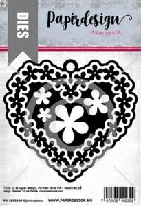 Bilde av Papirdesign Dies PD1900230 - Hjerteramme