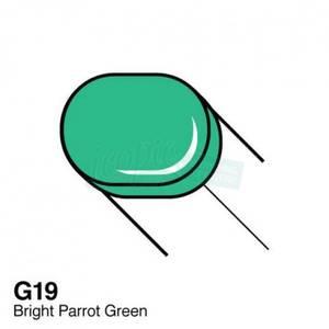 Bilde av Copic - Sketch Marker - G19 - BRIGHT PARROT GREEN
