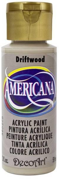Americana Acrylic Paint - Driftwood - Opaque 2oz