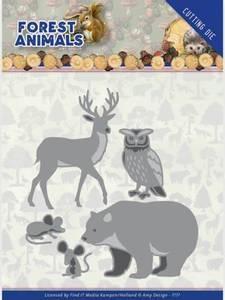 Bilde av FIT - Dies - ADD10234 - Amy Design - Forrest Animals 2