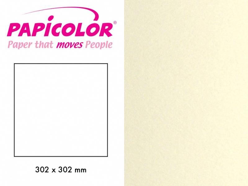 Papicolor - Kartong - 12x12 - 331 - Metallic - Ivory